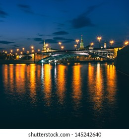 Bolshoy Kamenny Bridge (Greater Stone Bridge), Moscow, Russia