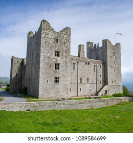 Bolton Castle is a 14th-century castle in Wensleydale, Yorkshire, England. The castle is a Grade I listed building and a Scheduled Ancient Monument. The castle was damaged in the English Civil War.