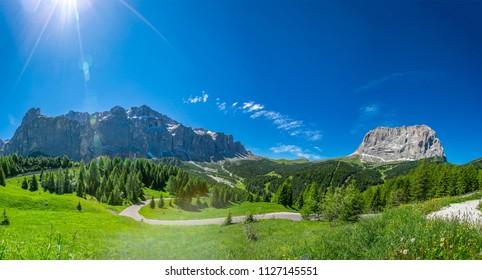Bolzano natural view in Italy