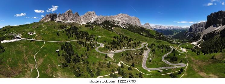 Bolzano Panoramic 360 degree in Italy.