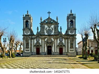 Bom Jesus de Matosinhos church in north of Portugal