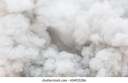 Bomb smoky background,Smoke caused by explosions.