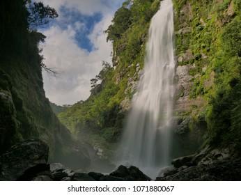 Bomod ok falls, waterfall near Sagada in Northern Luzon, the Pilippines