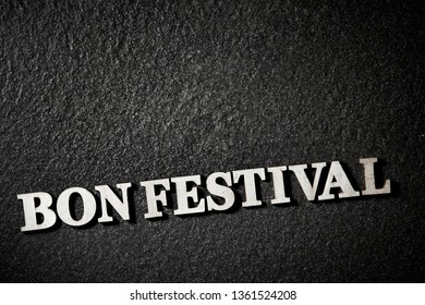 Bon festival background