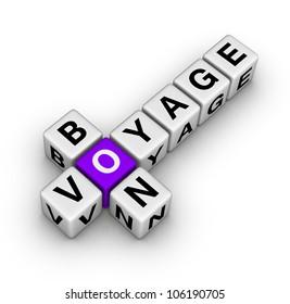 bon voyage (cubes crossword series)