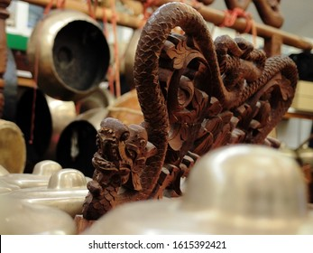 Bonang, a Dragon shaped Gamelan instrument from Indonesia