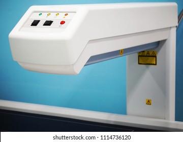 Bone densitometer machine. Bone scan