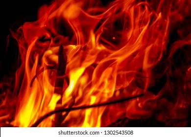 Bonfire fire abstraction