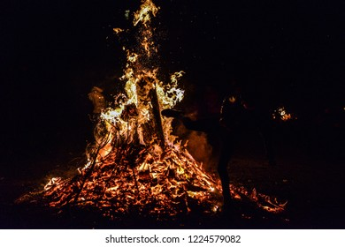 Bonfire, Novruz holiday