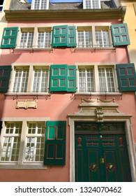 Bonn, Bonn / Germany - April 8 2018: Beethoven House birthplace museum