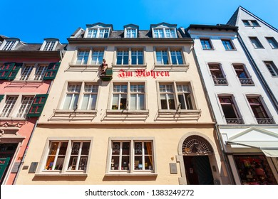 BONN, GERMANY - JUNE 29, 2018: Beethoven House or Beethoven-Haus is a memorial site, museum and cultural institution in Bonn, Germany