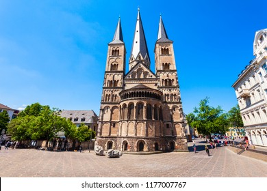 Bonn Minster cathedral or Bonner Munster is the oldest roman catholic church in Bonn, Germany