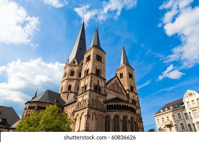 The Bonn Minster, one of Germany's oldest churches