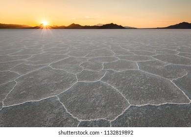 Bonneville Salt Flats, Wendover, Utah, USA
