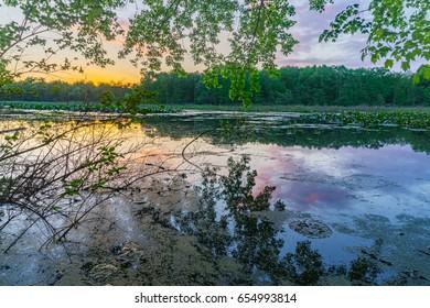 Bonnie Lake Castle Sunset