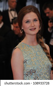 """Bonnie Wright at the gala screening of """"Cosmopolis"""" in competition at the 65th Festival de Cannes. May 25, 2012  Cannes, France Picture: Paul Smith / Featureflash"""