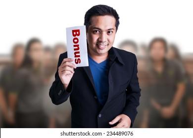 Bonus for Business man