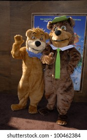 "Boo Boo and Yogi Bear  at the ""Yogi Bear"" Los Angeles Premiere, Village Theater, Westwood, CA. 12-11-10"
