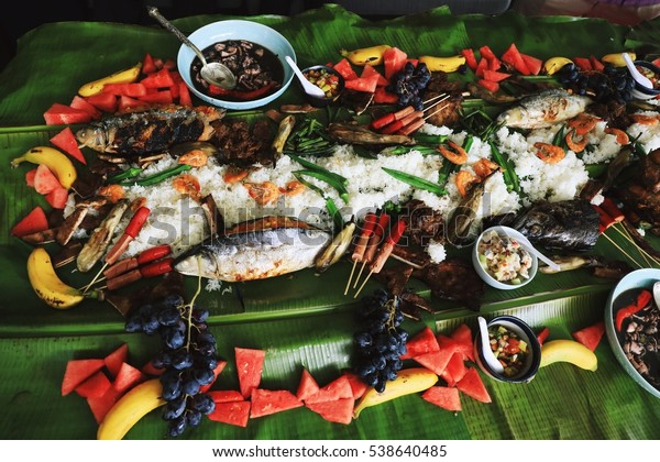 Boodle Fight - Philippine Culture