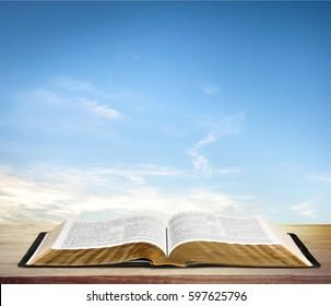 Imágenes Fotos De Stock Y Vectores Sobre Biblia Abierta Shutterstock