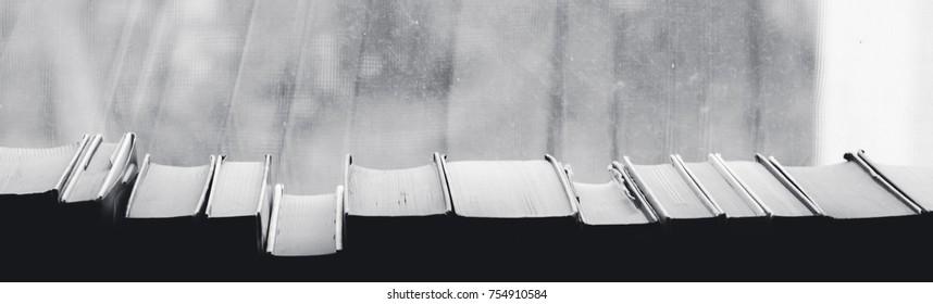 book background, window
