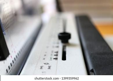 Book binding machine. Printing equipment. Industraial tool.