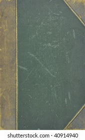 Book cover, old canvas