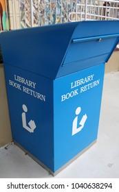 book deposit box