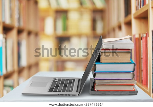 Book, Education, Laptop.