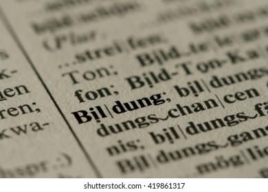 Bildung Translation