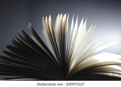 Book motion blur pages abstract background