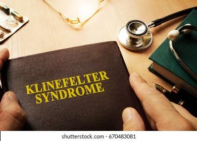 Book with name Klinefelter syndrome.