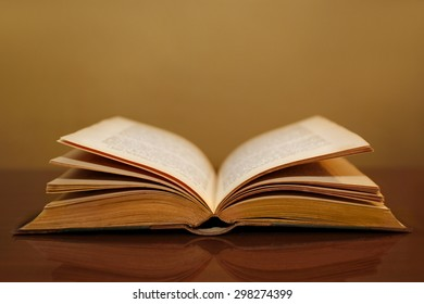book on the desk