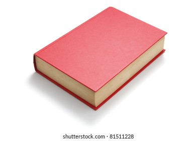 Book on Isolated White Background