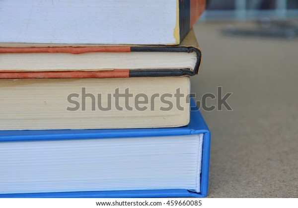 book overlay on the table