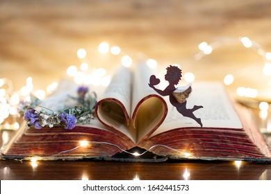 Book of romantic love poems.