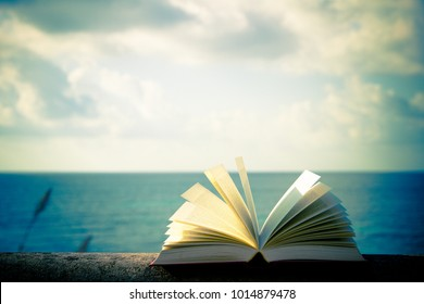 book at the sea