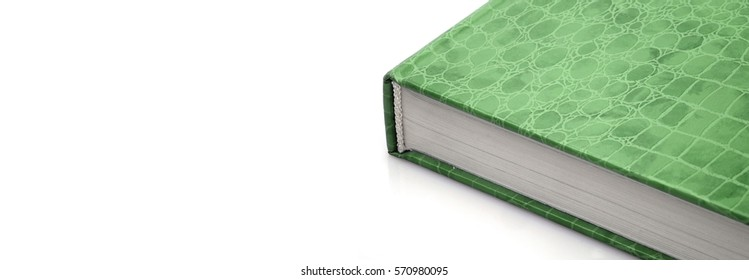 Book stack on a white background (Layout banner)