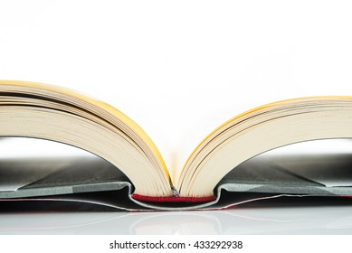 book, White Background