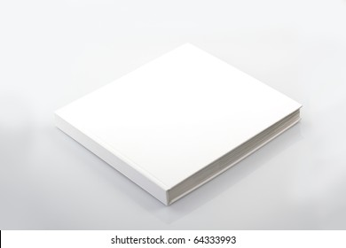 The book with a white cover