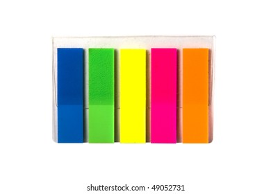 bookmark isolated on a white background.