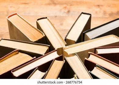 Books, book, stack.