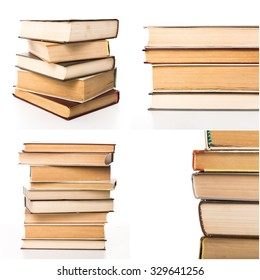 Books collage