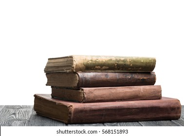 Books with isolated background