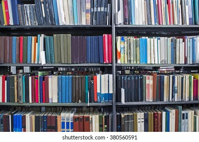 The books in the library