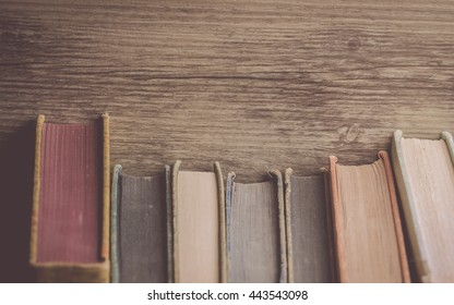 Books on wood