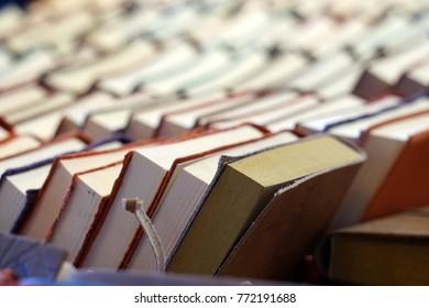 Books Shelf inside a library