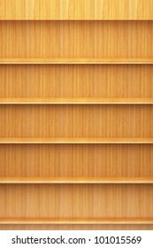 Bookshelf wooden
