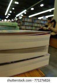 Bookstores Displayed books