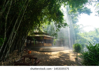 Boon Pring is a bamboo forest which is also top travel / tourist destination in Malang, East Java - Indonesia.